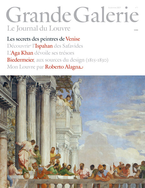 Grande Galerie, «Le Journal du Louvre» n°1