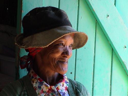 Une productrice de Thé Rooibos (thé rouge) en Afrique du Sud