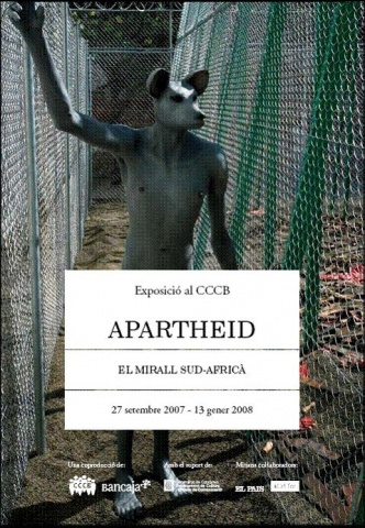 "Exposition ""Apartheid : the South African mirror"" 