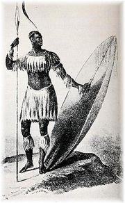 Représentation de l'Empereur Chaka